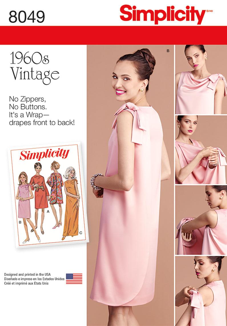 1960s Dress Patterns Unique Decoration
