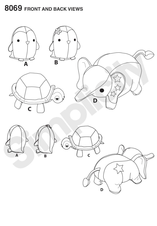 Diy Free Sewing Patterns Turtle | www.topsimages.com
