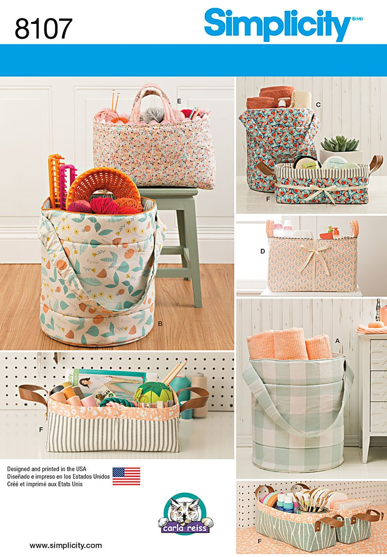 Free Sewing Patterns For Bucket Caddy Just B Cause