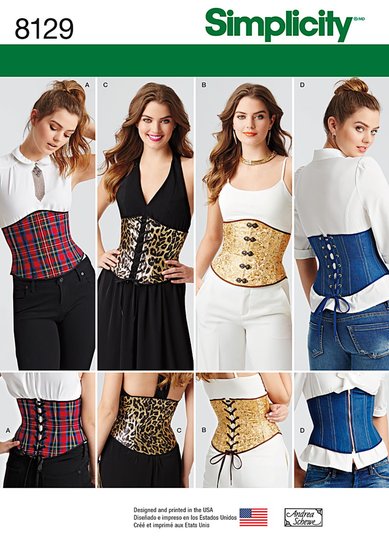 Simplicity Simplicity Pattern 8129 Misses' Easy Waist ...