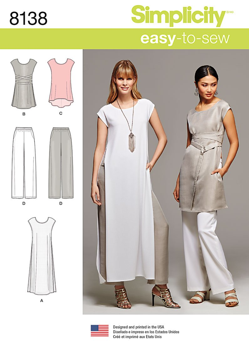 Simplicity Simplicity Pattern 8138 Misses Easy To Sew