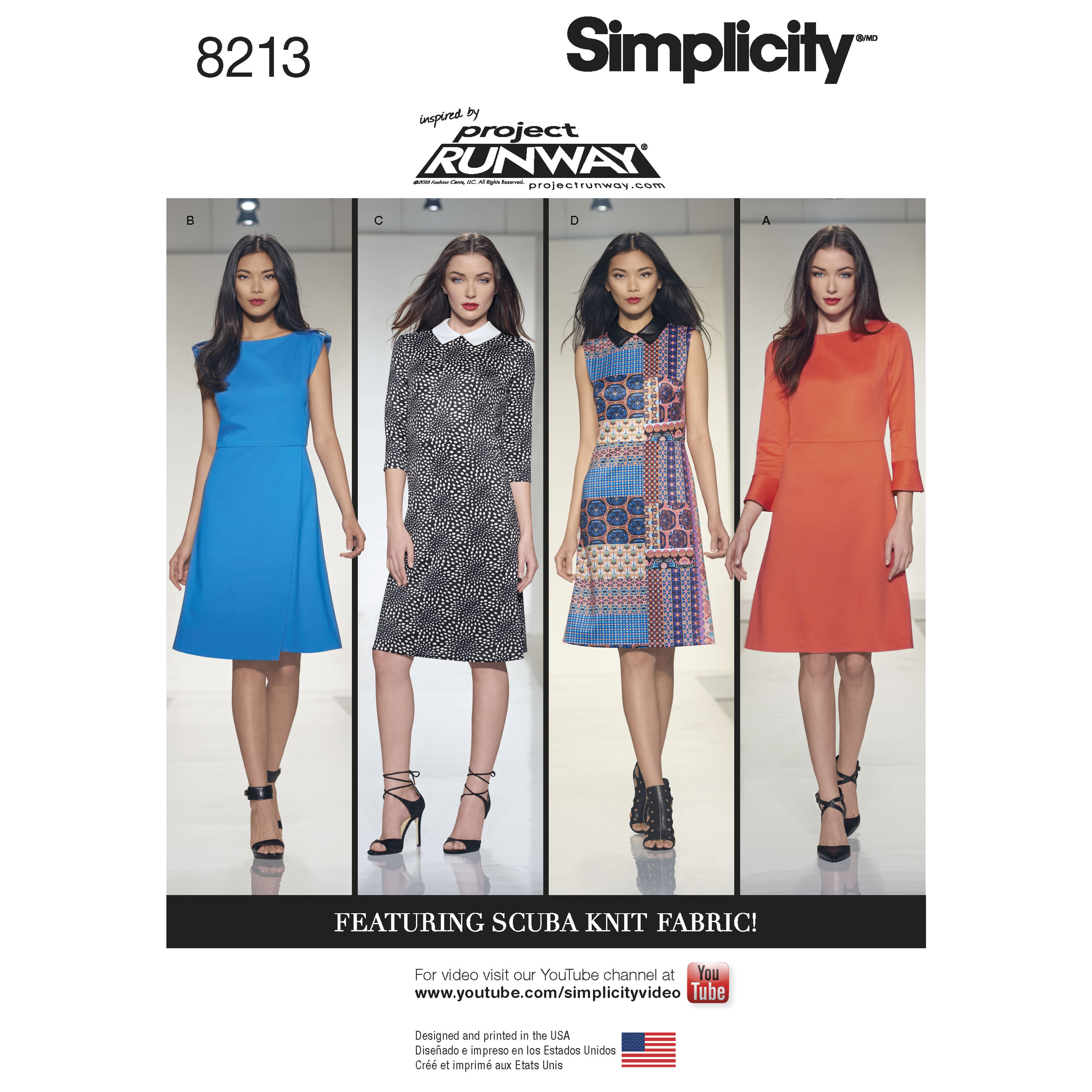 Simplicity 8213 misses inspired by project runway dresses prevnext jeuxipadfo Images