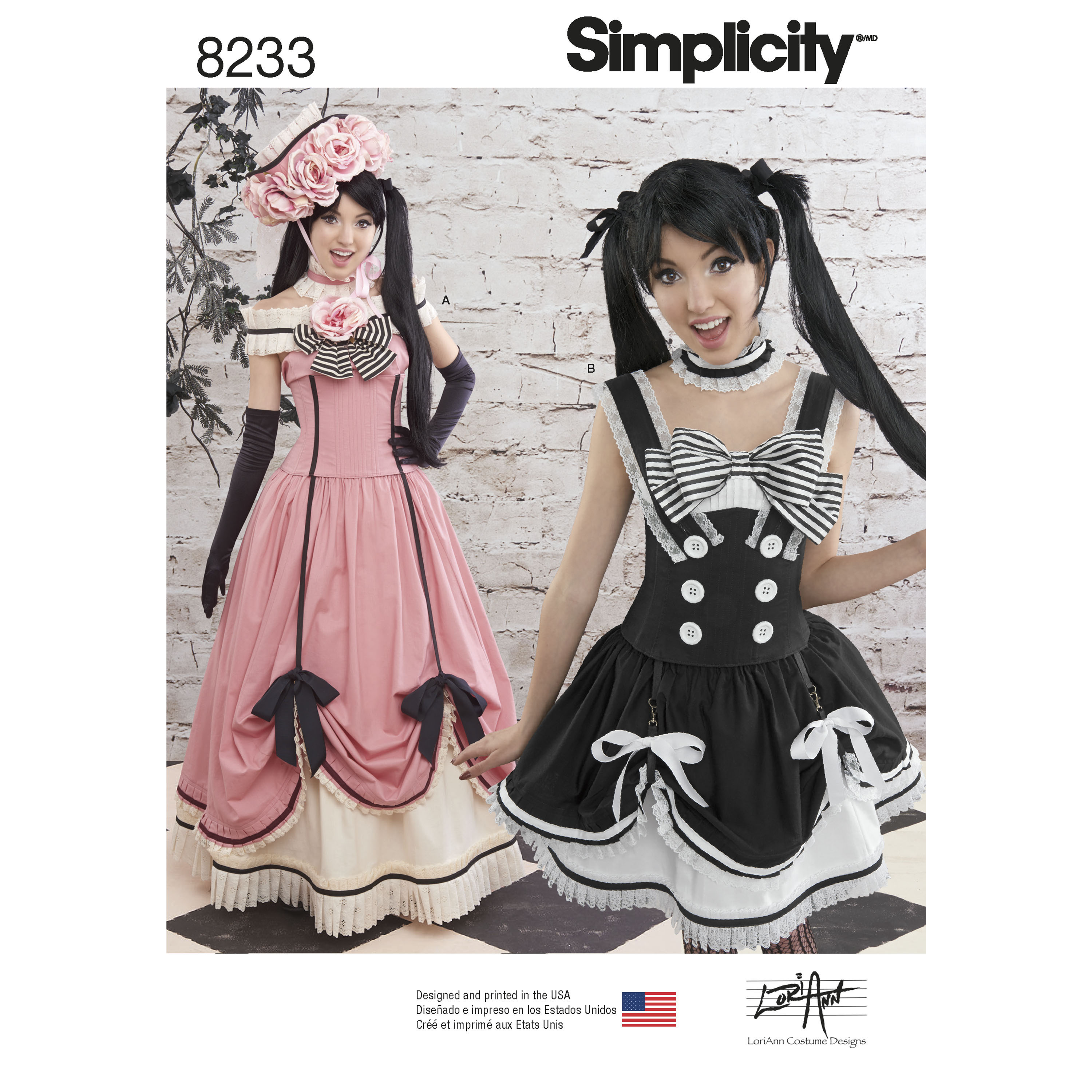 Simplicity 8233 Misses' Cosplay Costumes
