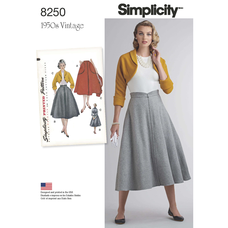 Simplicity Simplicity Pattern 8250 Misses' Vintage 1950's ...