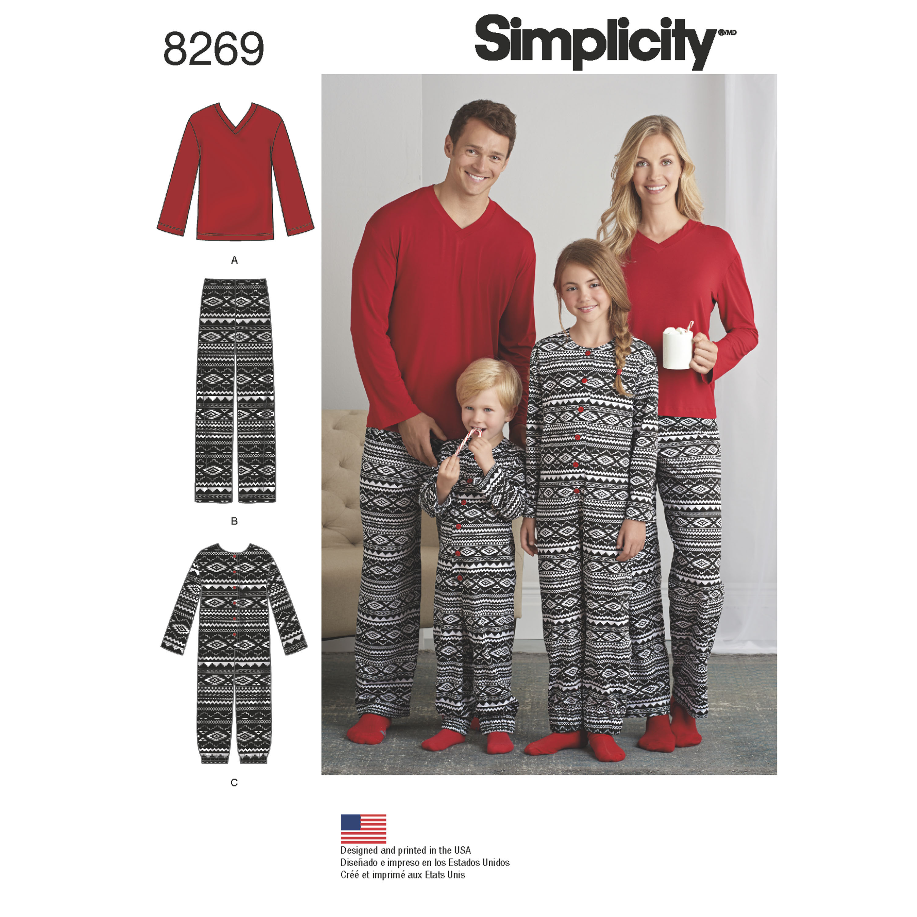 cff82b503c Simplicity Simplicity Pattern 8269 Child s Girls  and Boys  Jumpsuit and ...