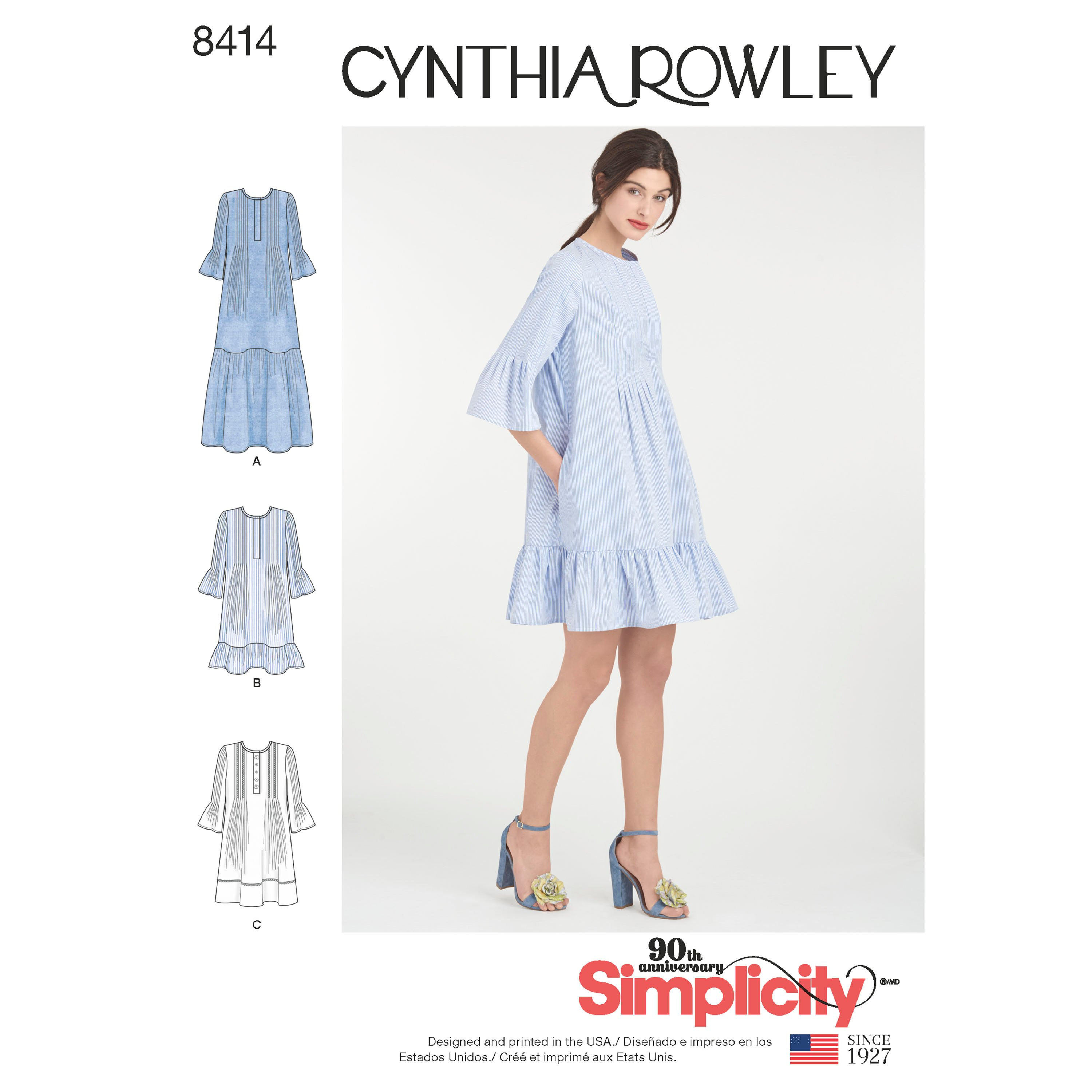 Simplicity 8414 Misses' Dress By Cynthia Rowley