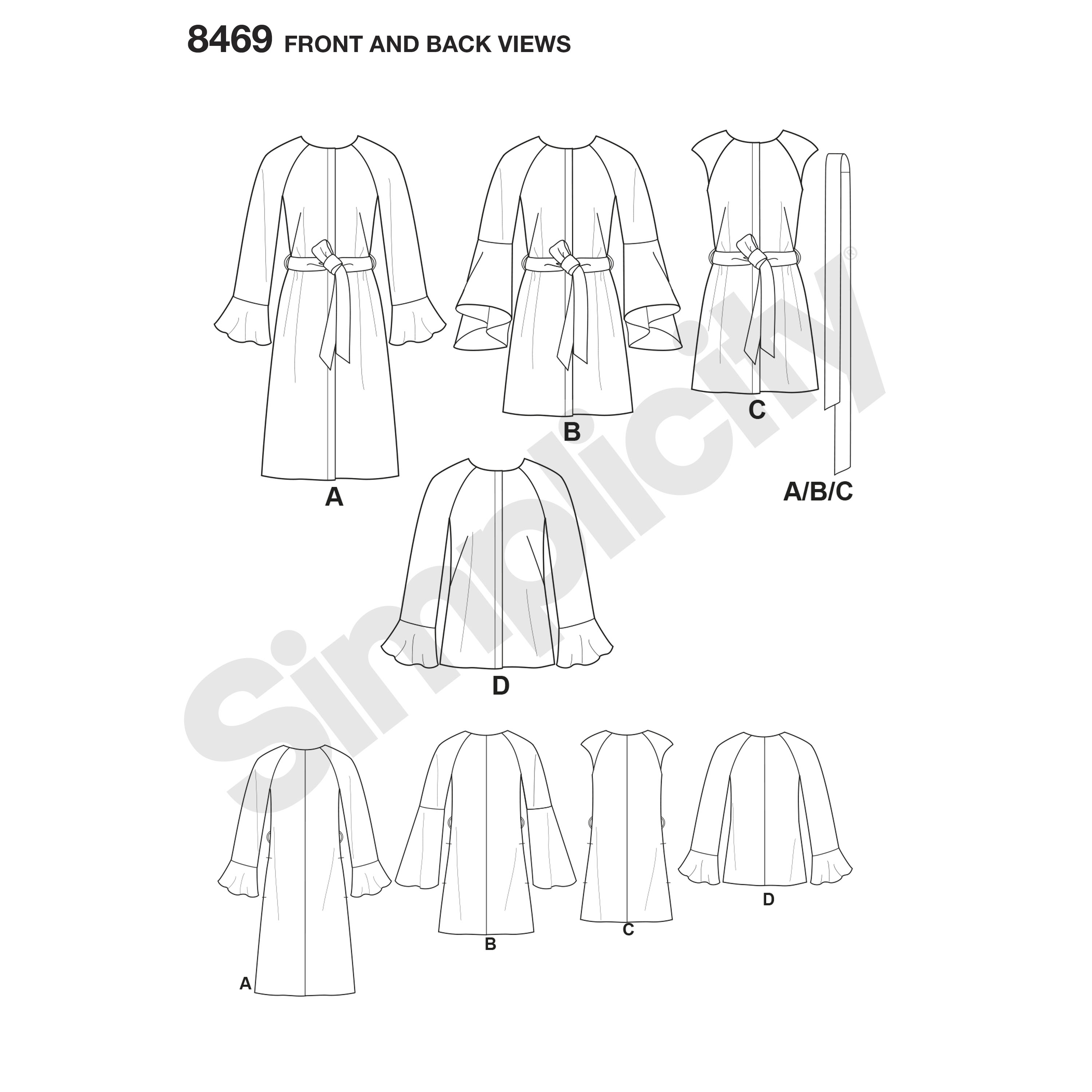 Simplicity pattern 8469 misses coat and vest with length variations prevnext jeuxipadfo Gallery