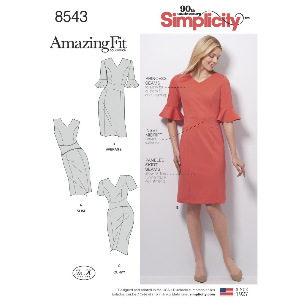 Simplicity Simplicity Pattern 8543 Misses' and Women's ...