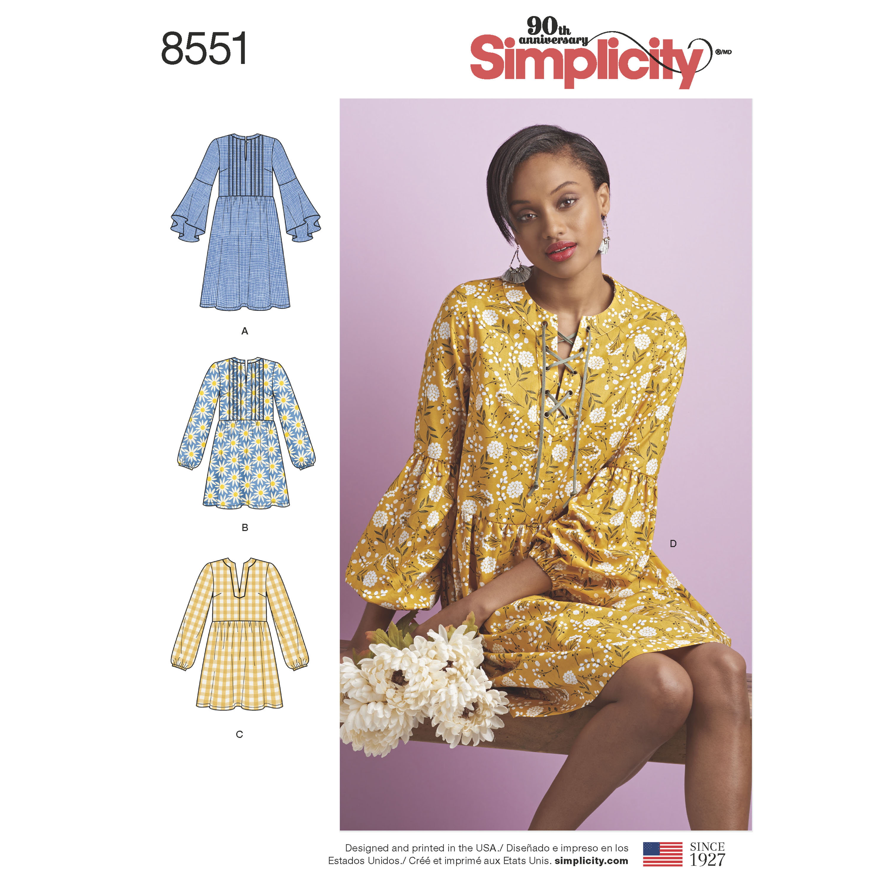 Simplicity Simplicity Pattern 8551 Misses' Dress or Tunic
