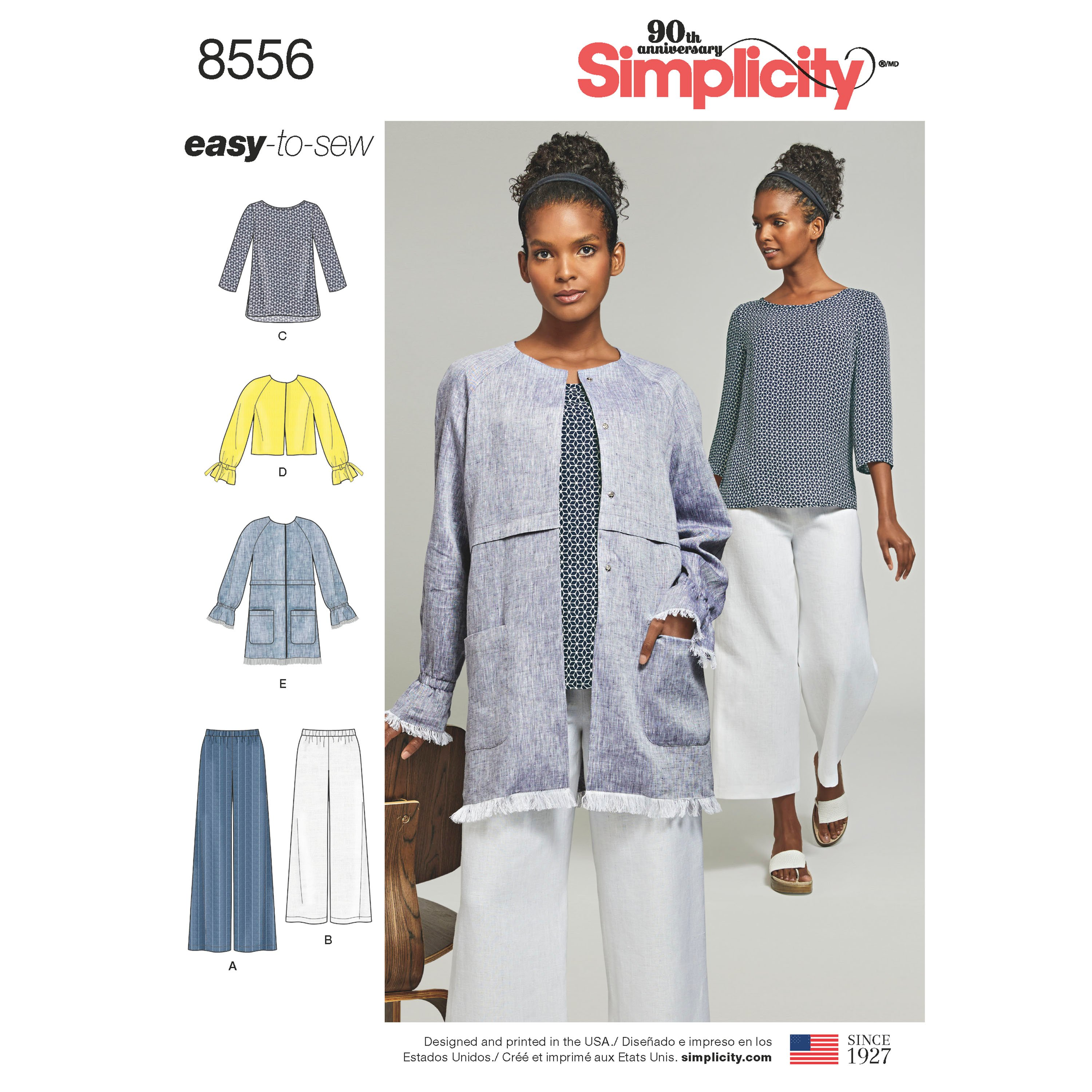 Simplicity Simplicity Pattern 8556 Misses' Easy to Sew ...