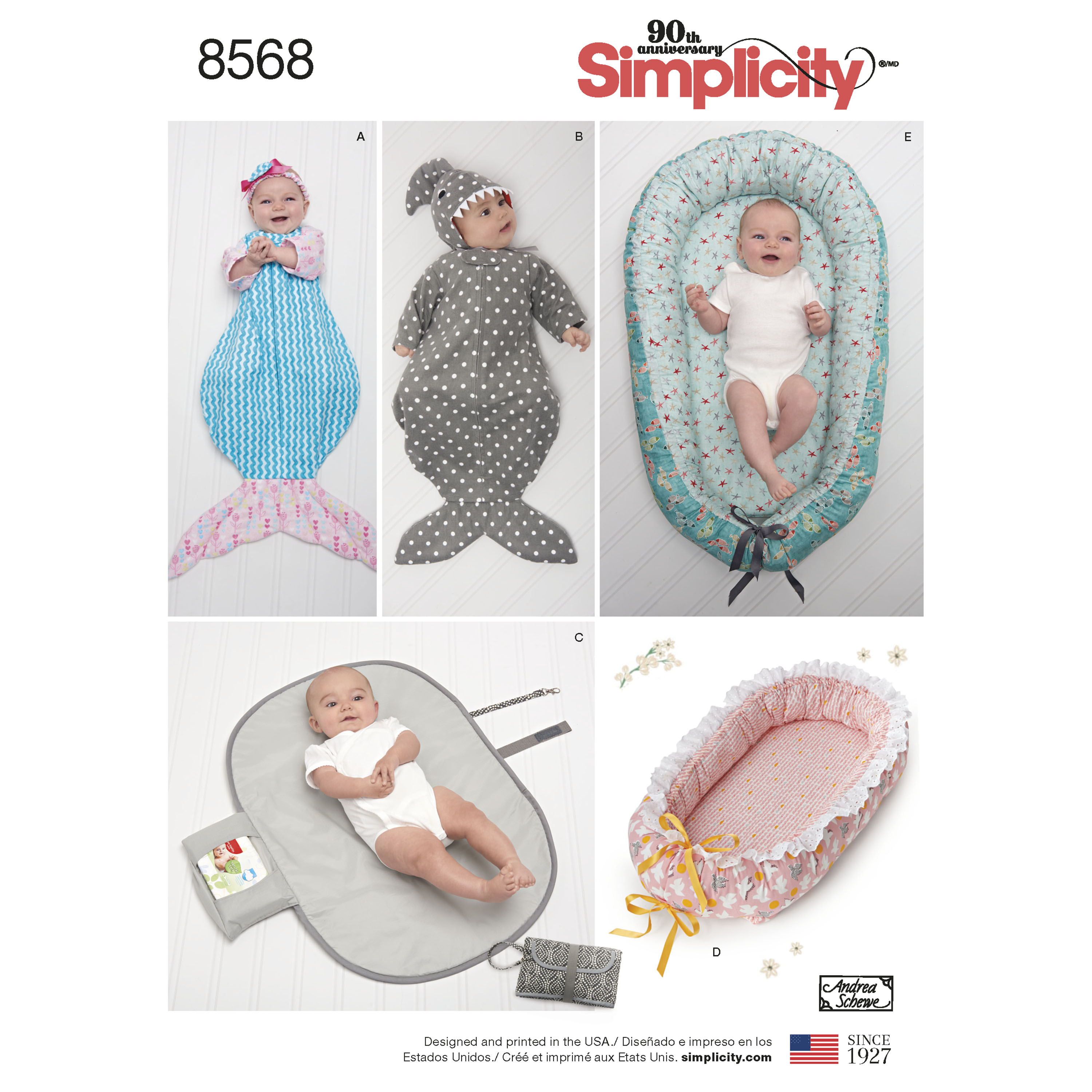 Simplicity Simplicity Pattern 8568 Baby Accessories