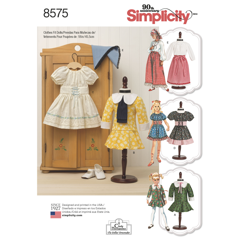 18 Doll Clothes Patterns Best Decoration