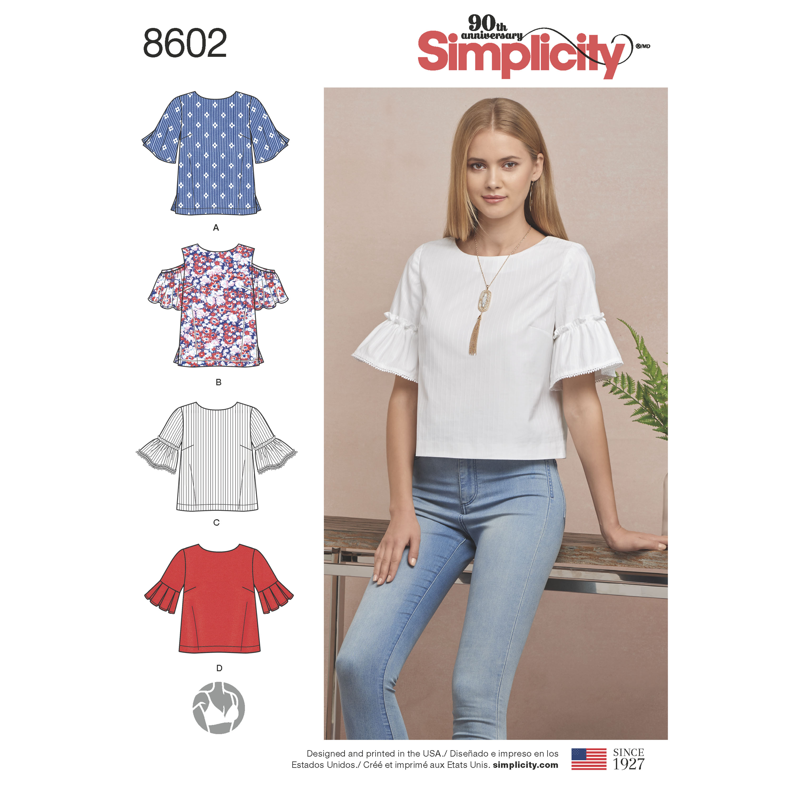 Simplicity 8602 misses tops in two lengths prevnext jeuxipadfo Image collections