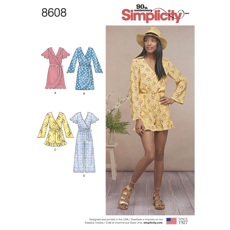Simplicity Jumpsuit Pattern New Decoration