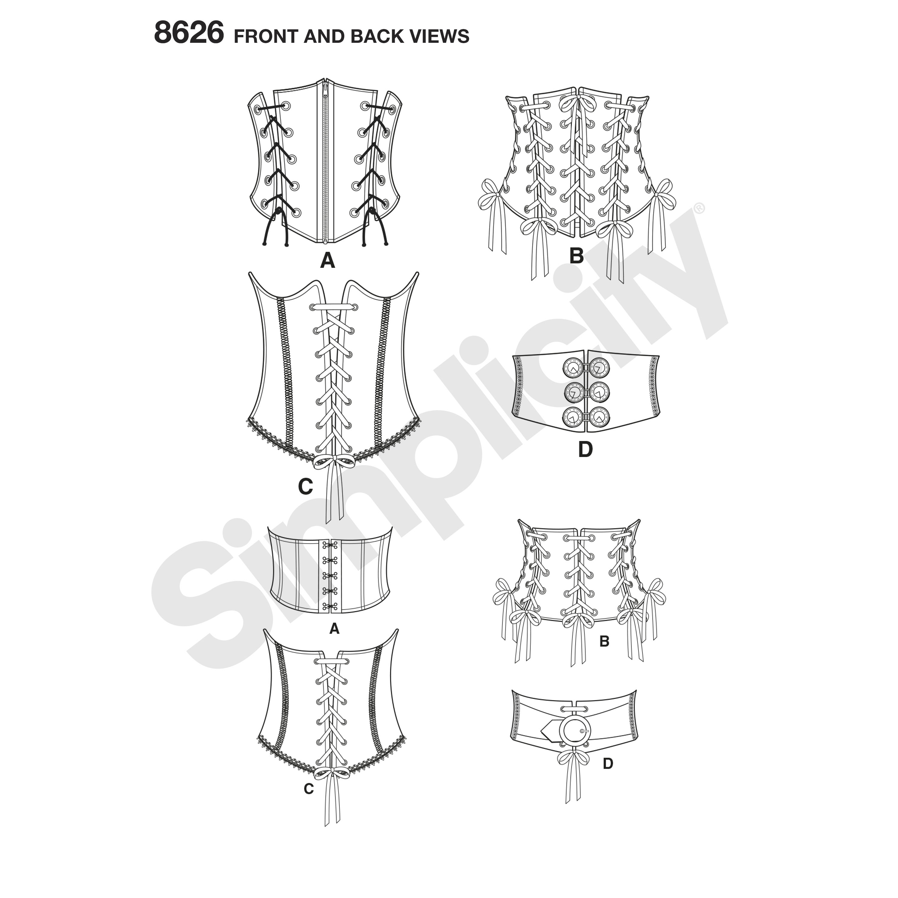 Corset Sewing Pattern Cool Design Inspiration