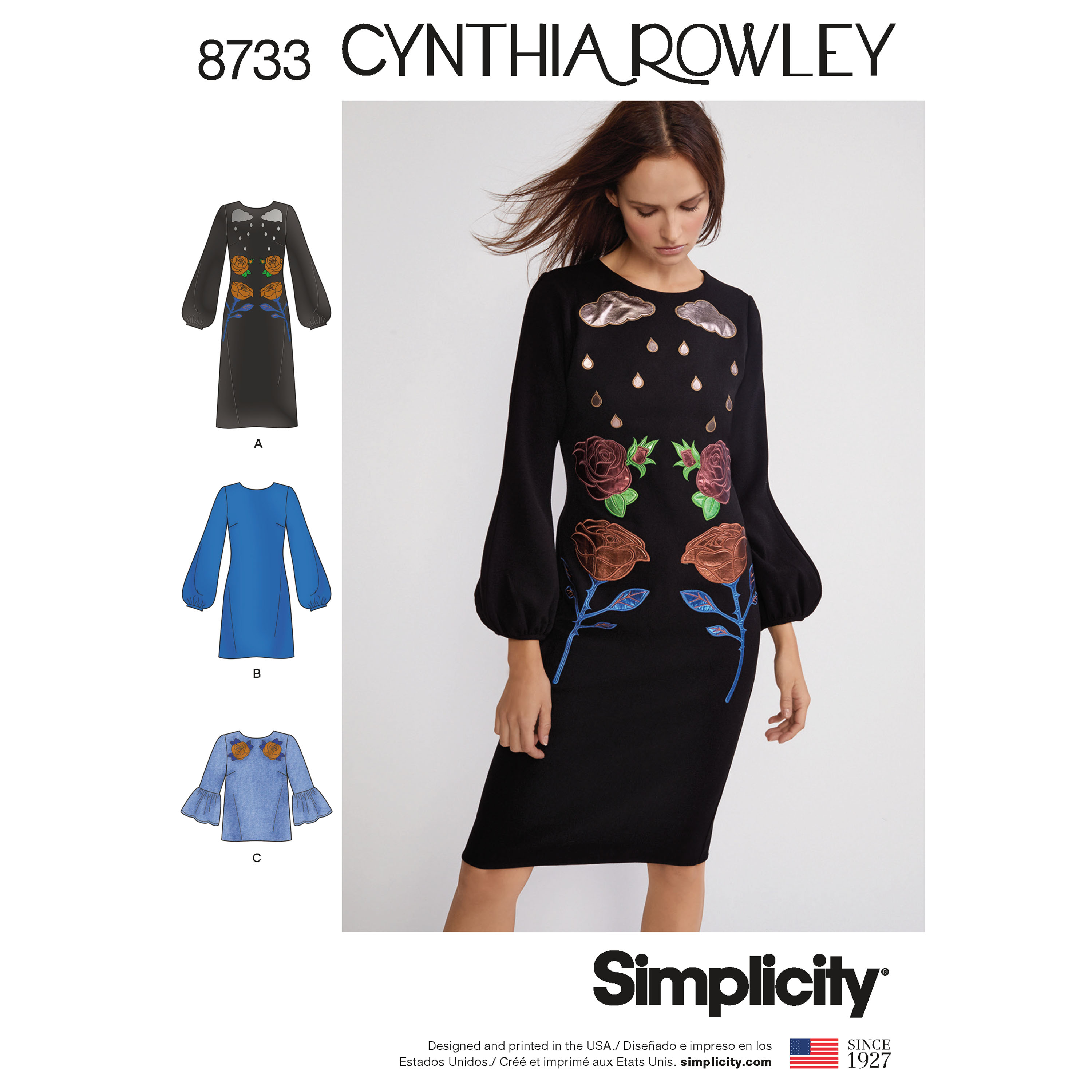 Cynthia Rowley Sewing Patterns: Simplicity 8733 Misses' Cynthia Rowley Dress And Top