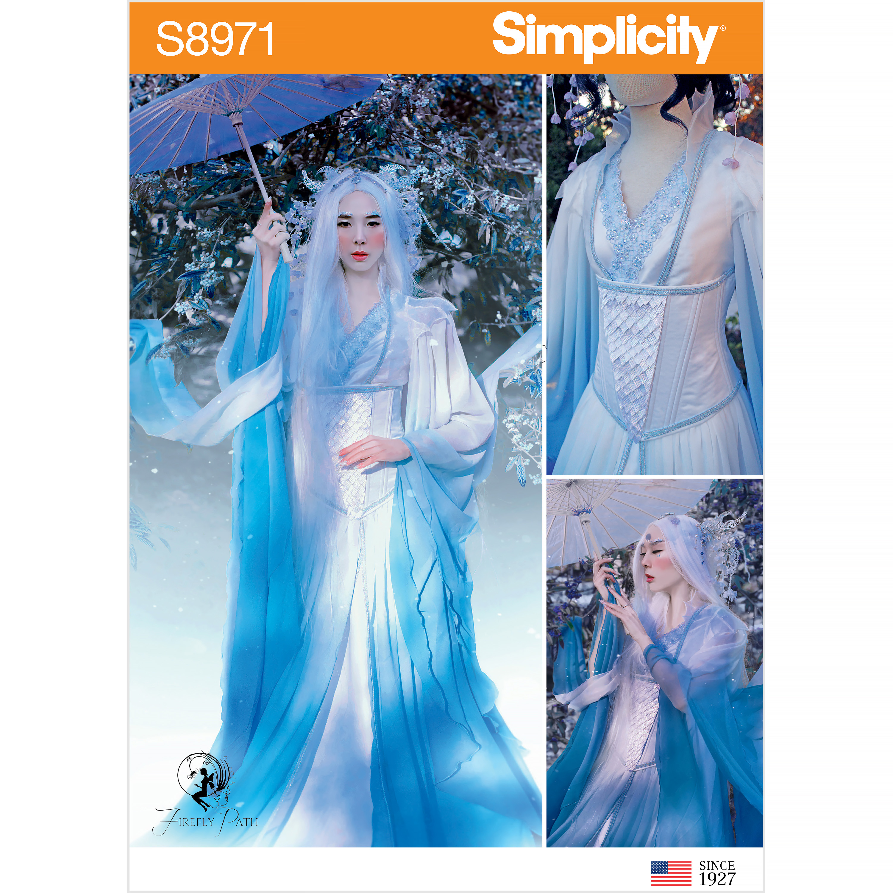 Simplicity sewing pattern 8971 costumes H5 6-8-10-12-14