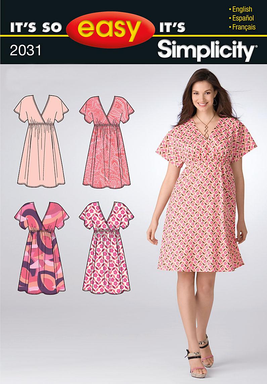 Simplicity 2031 Misses Dress