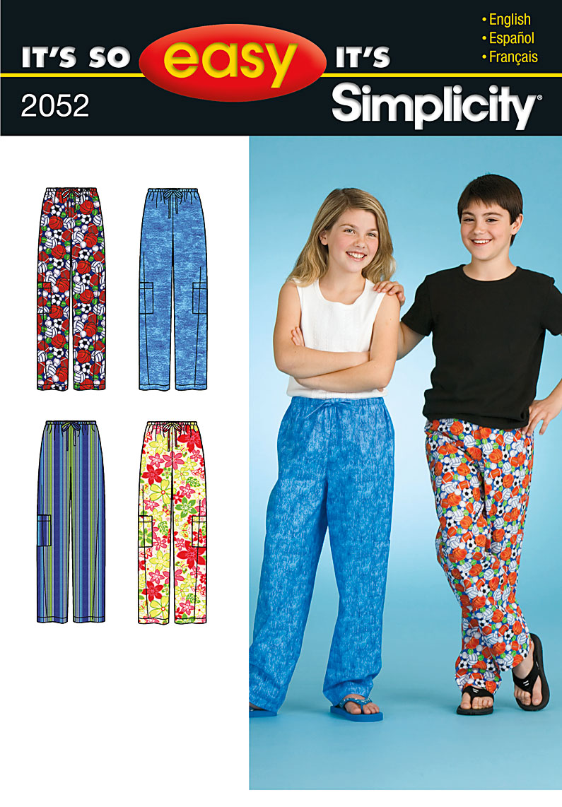 0b0f4715d6 PrevNext. It s So Easy girl s and boys  sleepwear sewing ...