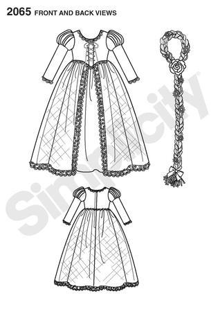 Simplicity 2065 Child\'s Costume