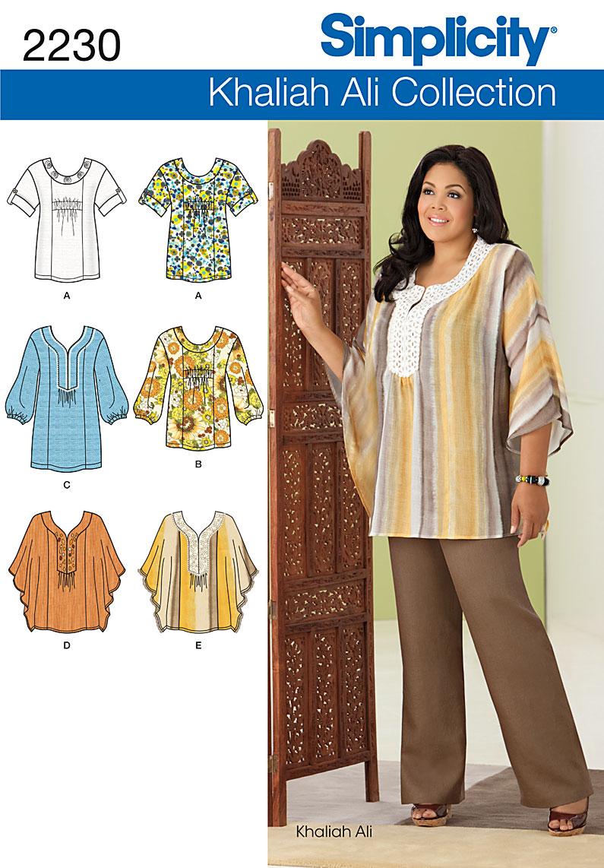91a9c372f4e659 PrevNext. Misses' & Plus Size Khaliah Ali Collection tunic ...