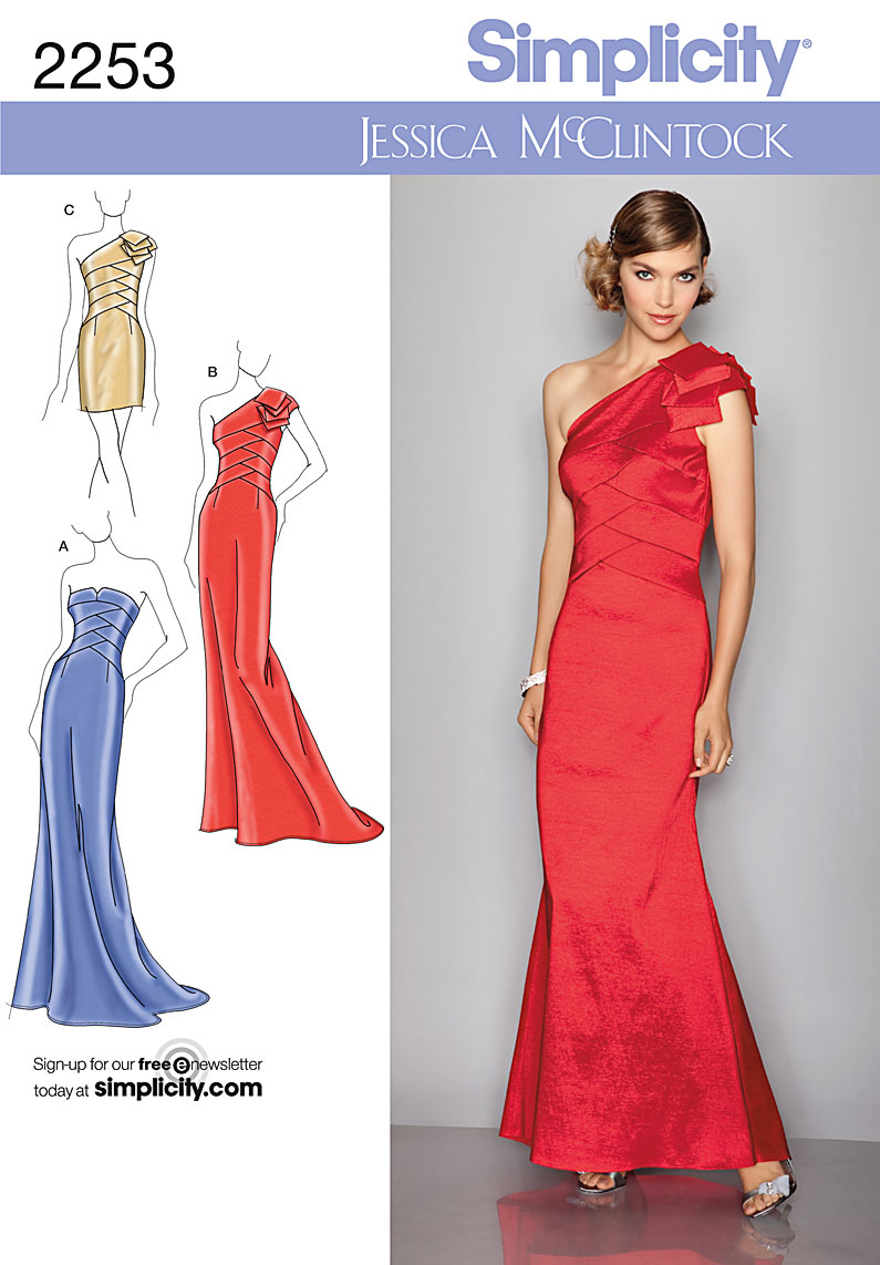 Patterns for Homecoming Dresses