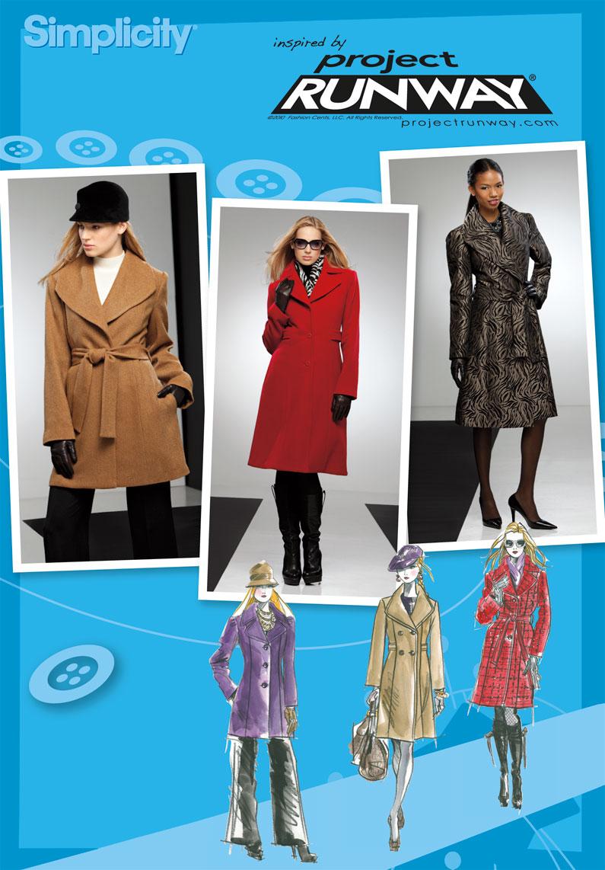 Simplicity 2311 Misses' & Miss Petite Coats