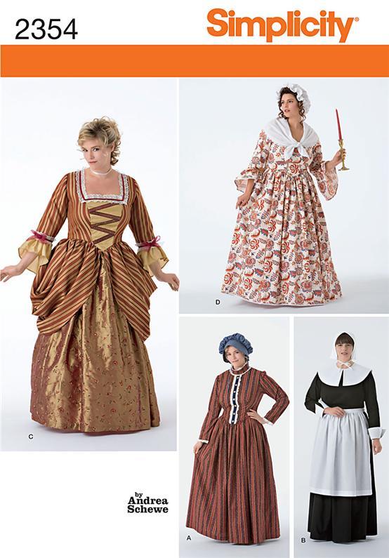 Simplicity 40 Plus Size Costumes Amazing Plus Size Costume Patterns
