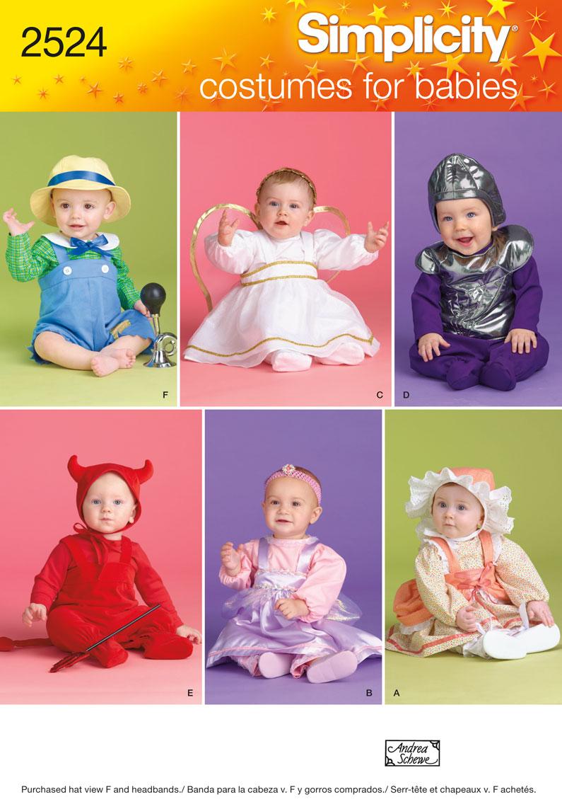 Simplicity 2524 Babies' Costumes