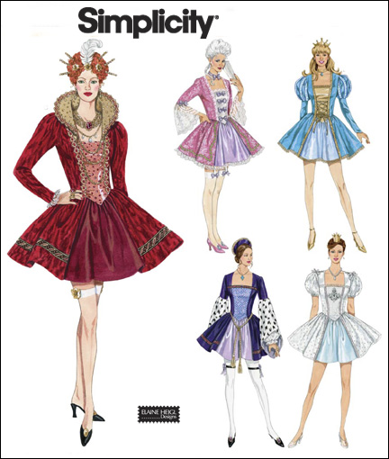 Simplicity 40 Misses Costumes Simple Simplicity Costume Patterns
