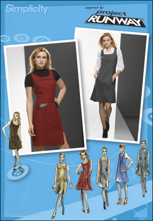 Simplicity 2848 Misses Miss Petite Jumper Project Runway Collection
