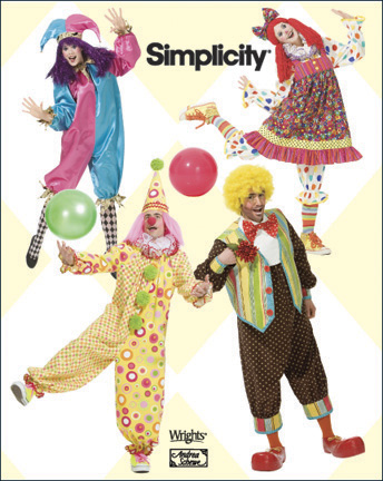 PrevNext. Adult Clown Costumes  sc 1 st  Sewing Pattern Review & Simplicity 2849 Adult Clown Costumes