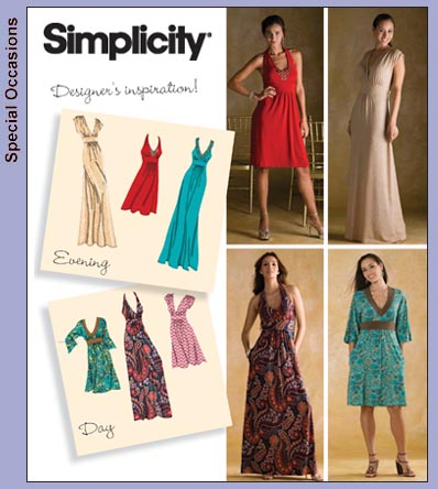 Simplicity 3503 Misses Day Or Evening Knit