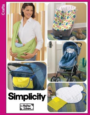 simplicity 3712 baby sling. Black Bedroom Furniture Sets. Home Design Ideas