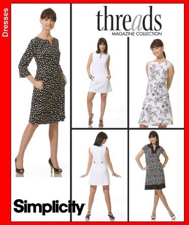 Simplicity 3744 Threads dress - photo#46