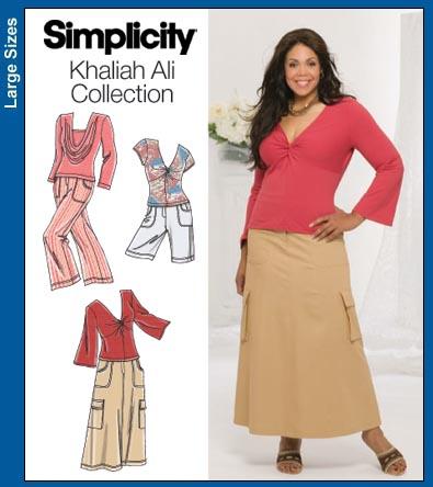 Simplicity 3768 Knit Top