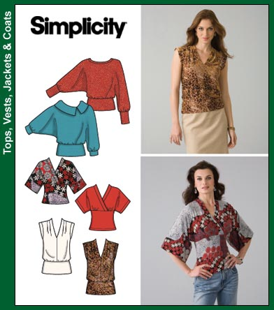 Simplicity 4020 Knit Tops
