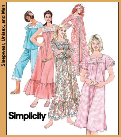 67de9b8d05 Simplicity 4048 Misses  nightgown