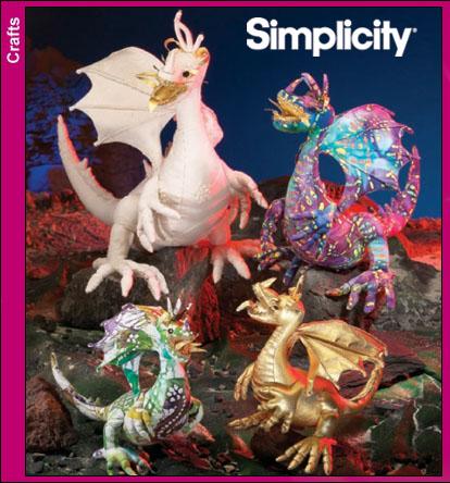 Simplicity 4063 Dragons