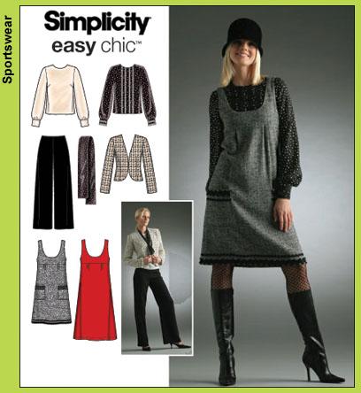 Simplicity 4097 Jumper