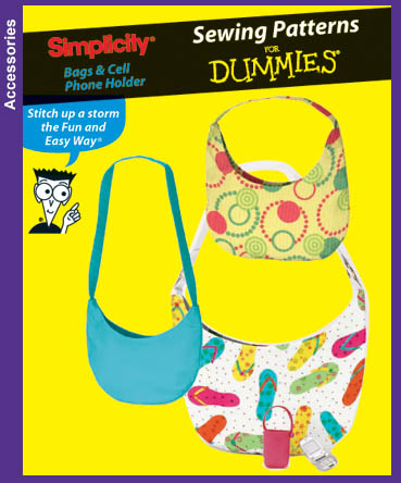 Simplicity 4178 Sewing For Dummies Bags