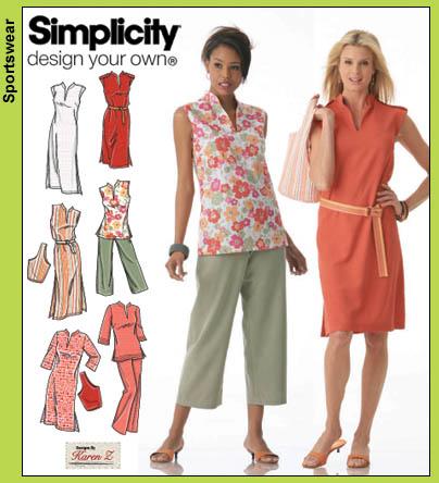 Simplicity 4190 simple sheath