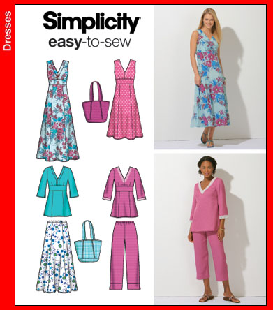 Simplicity 4220 Easy To Sew