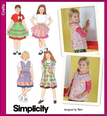 Simplicity 40 Aprons For Children Beauteous Simplicity Apron Patterns