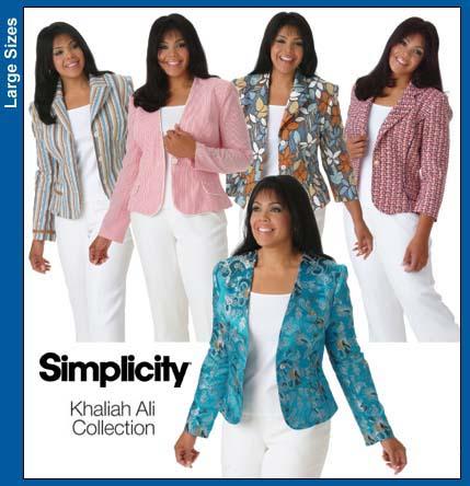Simplicity 4302 Khaliah Ali Collection