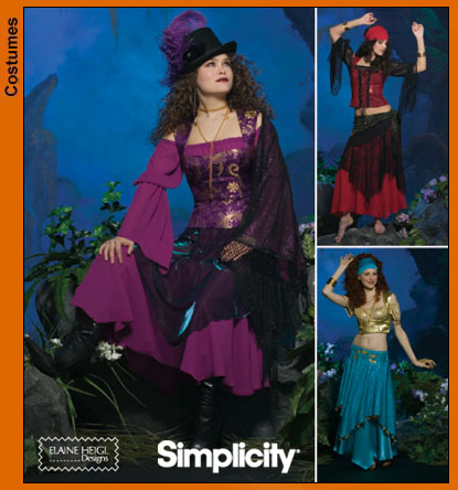 PrevNext. Misses Costumes  sc 1 st  Sewing Pattern Review & Simplicity 4484 Misses Costumes