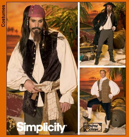 PrevNext. Menu0027s Costume  sc 1 st  Sewing Pattern Review & Simplicity 4923 Menu0027s Costume
