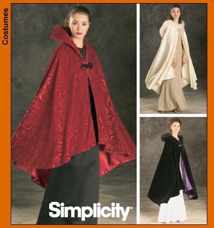 Simplicity 4947 Misses Capes