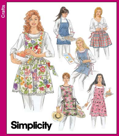Simplicity 40 Gorgeous Simplicity Apron Patterns