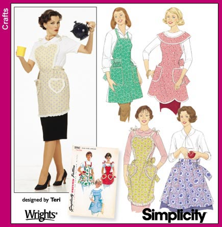 Simplicity 40 Aprons Amazing Simplicity Apron Patterns